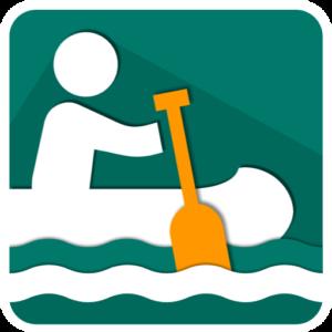 Vodácká navigace v mobilu potápka